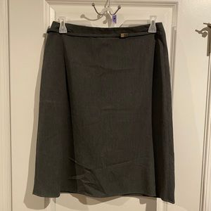 The Limited stretch gray skirt